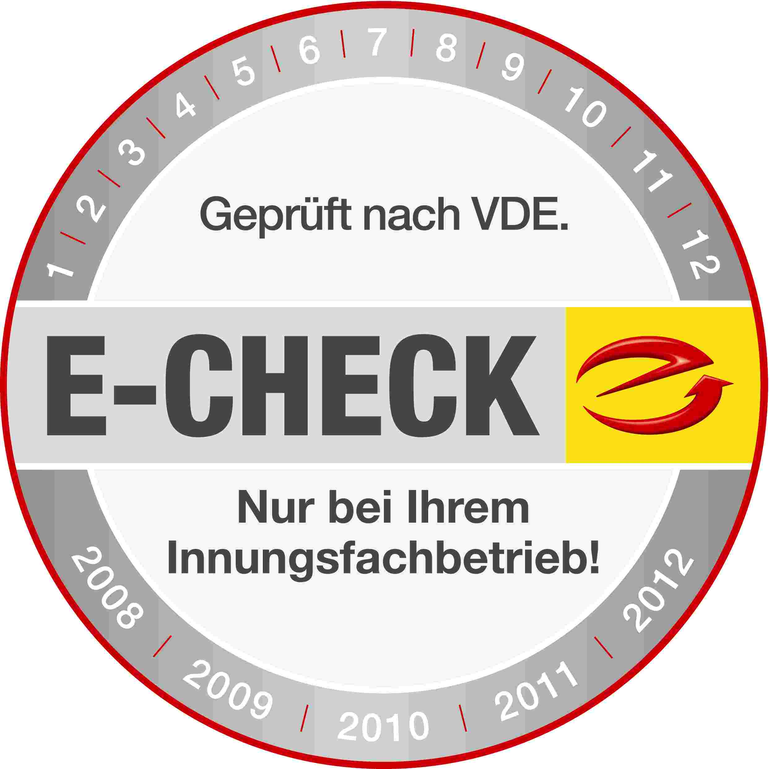 E-Check-Siegel
